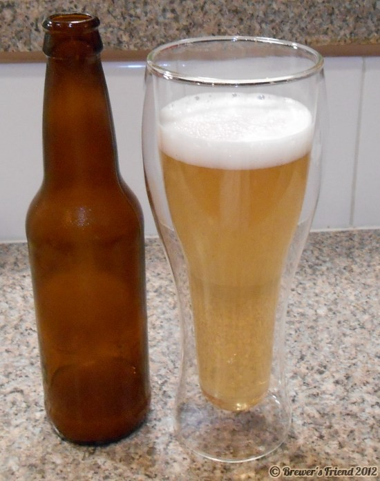 home brewed beer extract