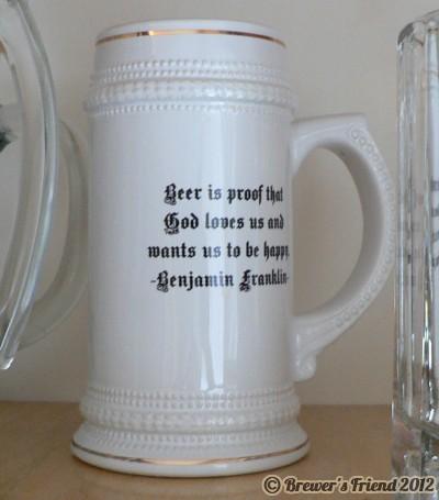benjamin franklin beer quote