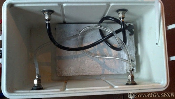 Jockey Box Inside Home Brew
