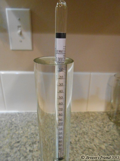 economy hydrometer beer brewing