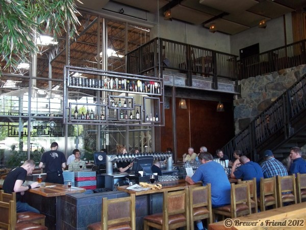 stone brewing bar