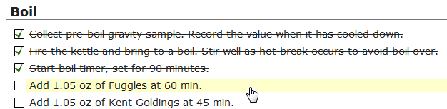 batch stats checkable