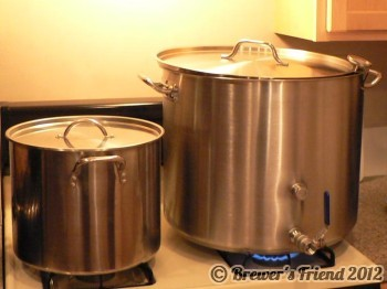 20 and 60 quart kettles