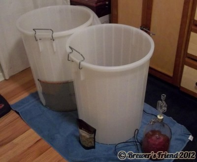 24 Gallon Wine Fermentors