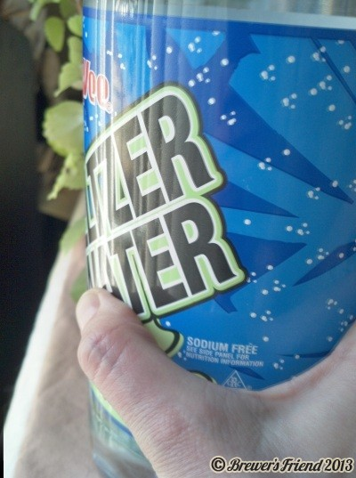 full plastic soda bottle