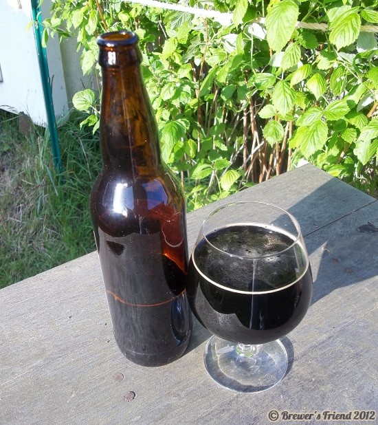 black ale beer