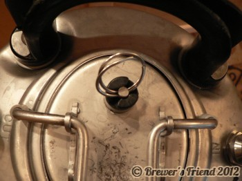 keg pressure relief valve