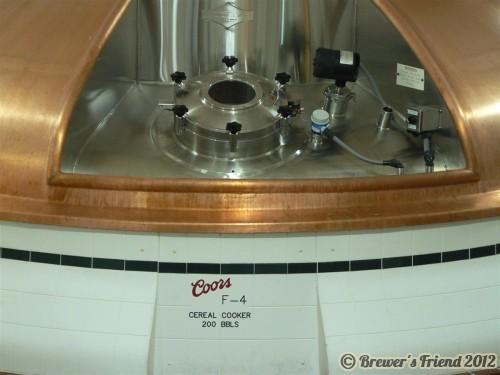 coors brewery mash tun