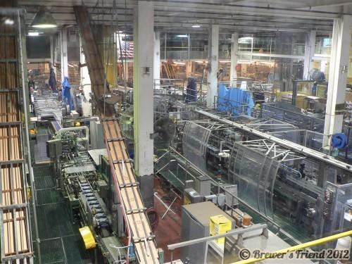 Coors Brewery Packaing Line