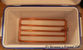 mash tun copper manifold