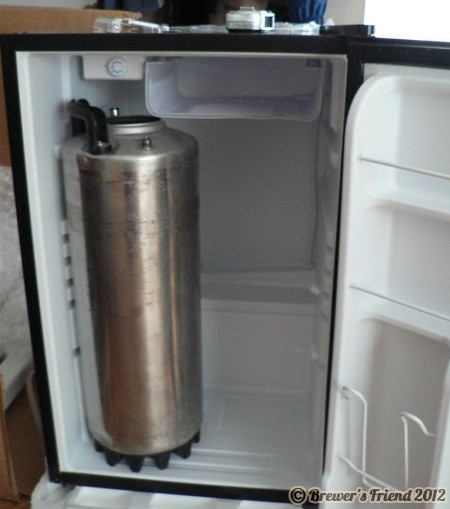 mini fridge home brewing fail