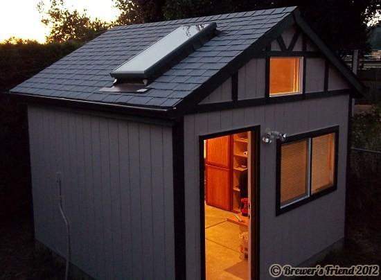 brew shed skylight
