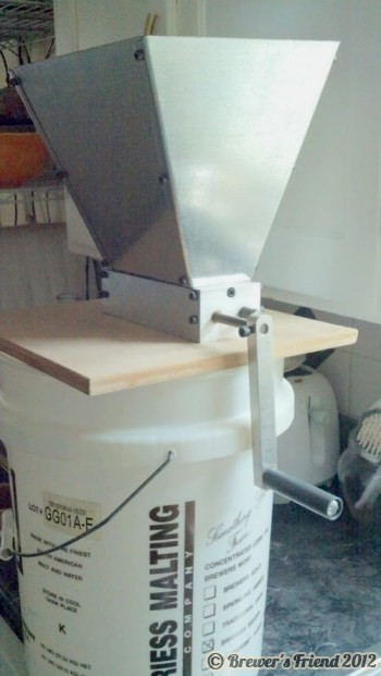 home brew grain mill
